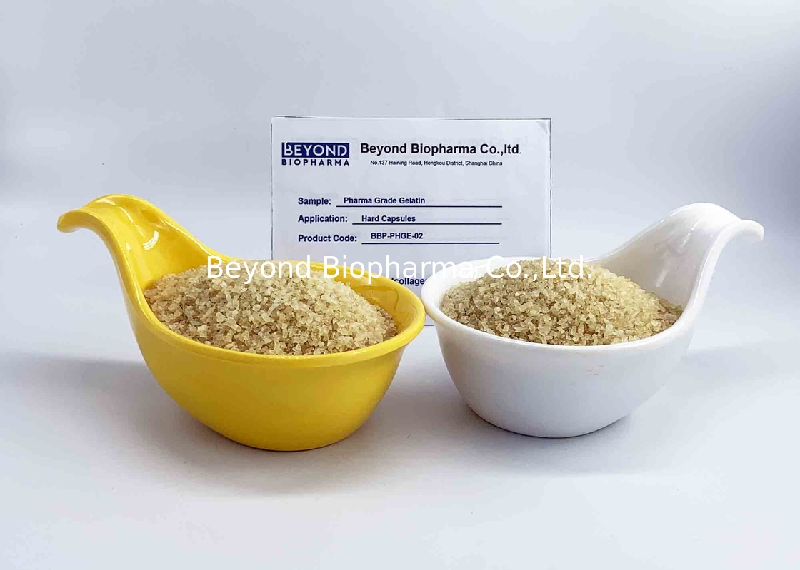Pharmaceutical Grade Organic Gelatin Powder / Pure Gelatin Powder For Produce Capsules
