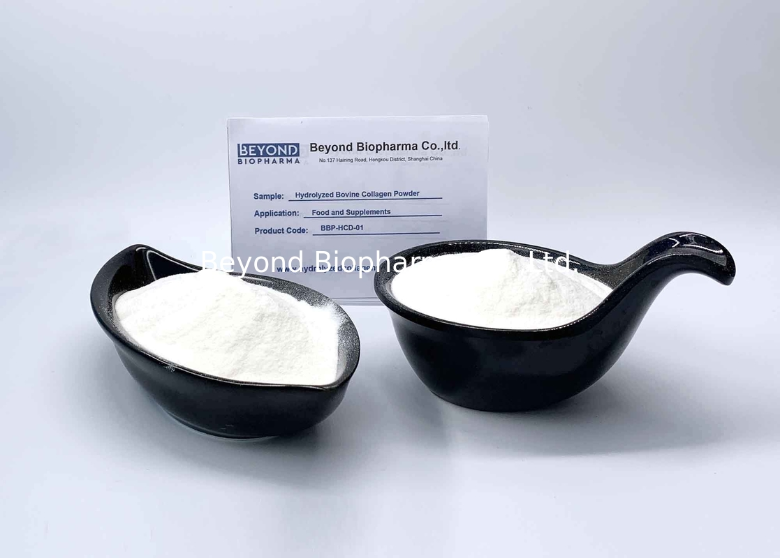 Hydrolyzed Cow Collagen Powder / Food Grade Cow Skins Protein Collagen Powder